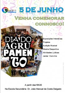 Cartaz do Dia do Agrupamento.imagem